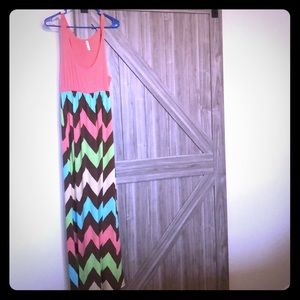Cute summer chevron dress!